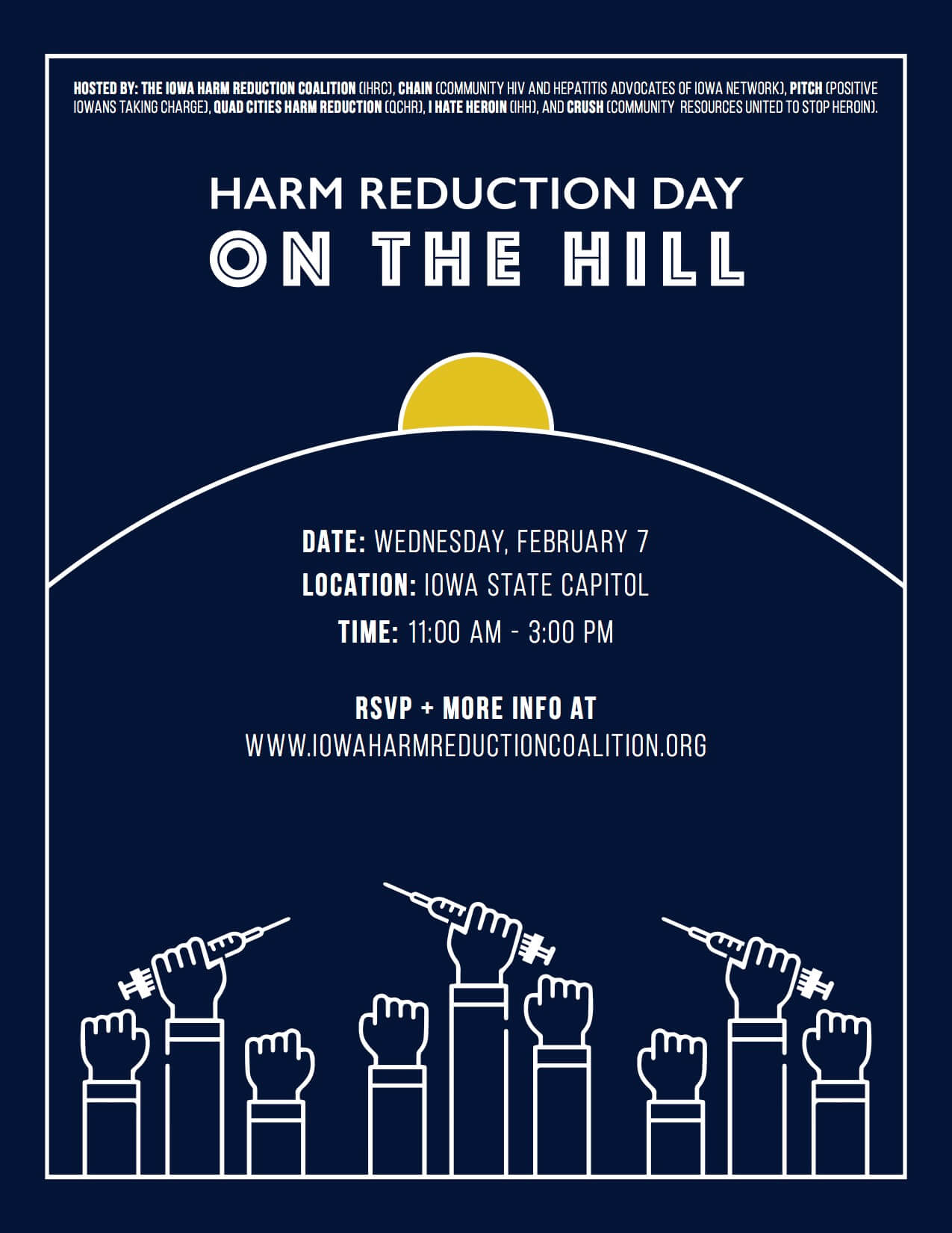 House Party Fundraiser Toolkit – Iowa Harm Reduction Coalition
